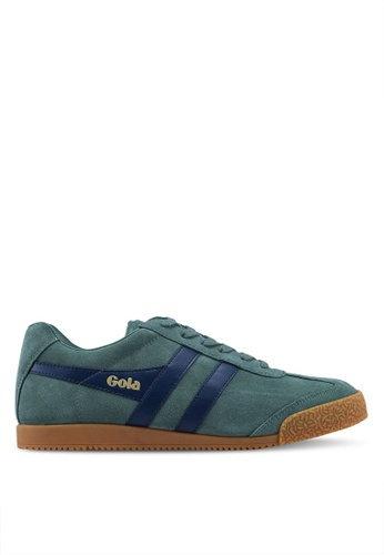 Gola green and multi Harrier Sneakers 0523FSH5DFA311GS_1