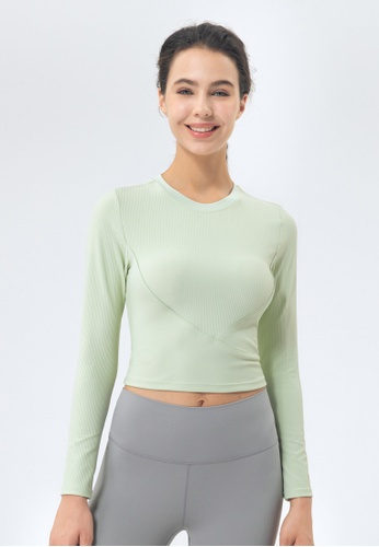 HAPPY FRIDAYS Women's Yoga Long Sleeve Tees DSG151 C5312AA6A78985GS_1