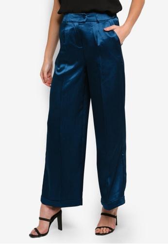 Vero Moda blue Jocelyn Grace Wide Leg Pants 98E71AAA0E229BGS_1