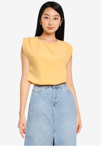 KOTON yellow Casual Blouse 8E058AA179ED6FGS_1