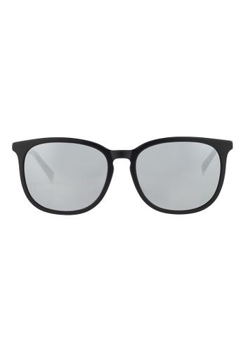 ESPRIT ESPRIT Oval Black Sunglasses ET13125 ES374AC56GAPMY_1