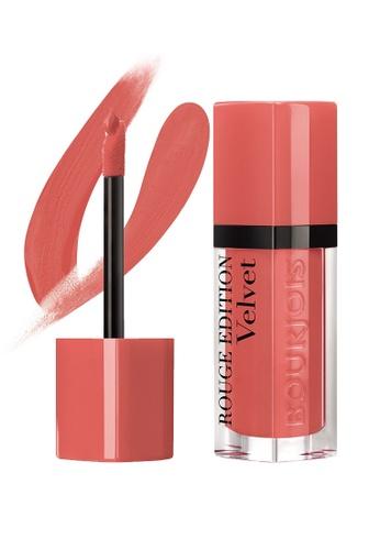 Bourjois Bourjois Rouge Edition Velvet #22 Apricoquette Lipstick BO885BE13PWKSG_1