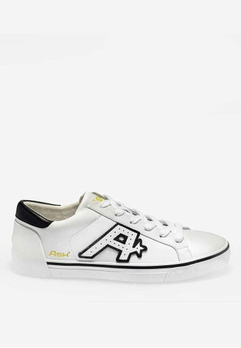 ASH white Nyx - White Embroidered Patch Low-Top Sneakers 15EC7SH830142EGS_1
