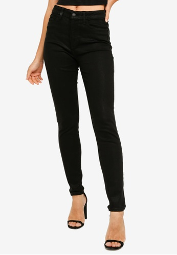 Guess 1981 High Rise Coated Skinny Jeans