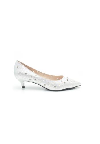 Elisa Litz silver Jalley Low Heels (Silver) D8D1BSH95CAD27GS_1