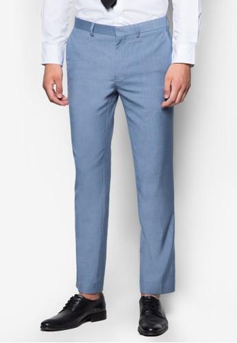 窄esprit分店管西裝長褲, 服飾, 貼身版型