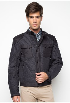 Mainline Aston Martin Racing Quilted Bomber Jacket