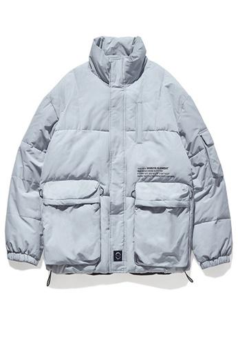 Twenty Eight Shoes grey Street Style Thickened Warm Coat 9755W FA544AA9A099B3GS_1