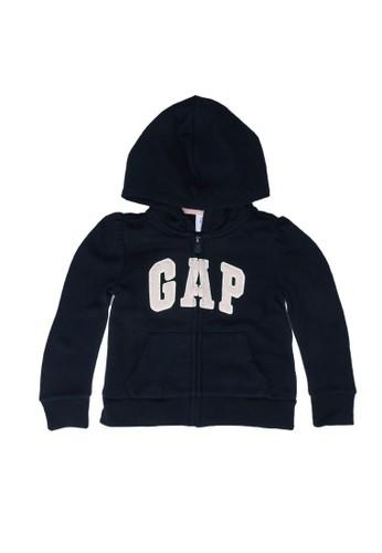 Gap blue Logo Full Zip Hoodie FF461KA0E023E1GS_1