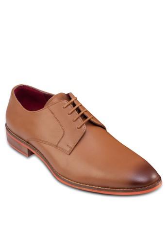 沖孔雕花牛津皮鞋, 鞋,zalora 評價 鞋