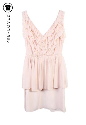 Keepsake beige Pre-Loved keepsake Light Pink Dress CC1A2AAFEA8746GS_1