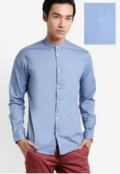 Selected Homme blue Donecrosby Long Sleeve Shirt SE364AA51EQIMY_1