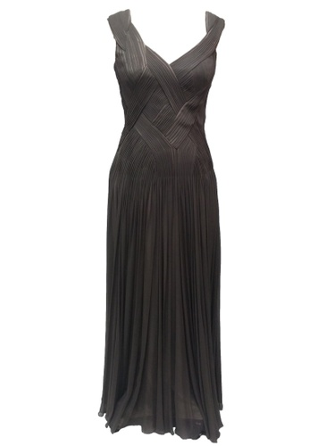 Buy ANNE F Only One Edition - Elegent Floor-Length Weave Pleating ...
