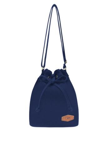 Ripples blue Chloe Basic Bucket Sling Bag RI425AC46HAJSG_1