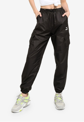 Puma black Classics Utility Pants BB8CAAA7D6F67EGS_1