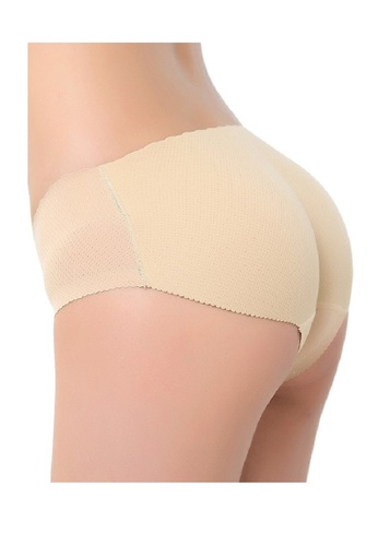 Golden Ticket Super Savers beige Perfect Booty Booster Padded Panties 3C964US954094FGS_1