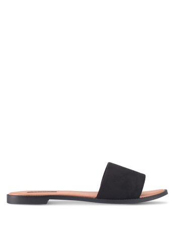 ZALORA black Easy Slides 2D7D9SHE86A3FEGS_1