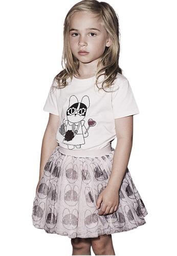Ribbons+Wheels pink Huxbaby Hey Frenchie T-Shirt B16F3KA9D73980GS_1