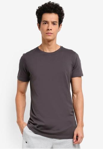 Cotton On 灰色 短袖長版T恤 8A0D5AA9E71FFAGS_1