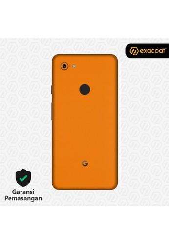 Exacoat Google Pixel 3a 3M Skins True Colors - Pumpkin Orange 9EA0FESCFE8854GS_1