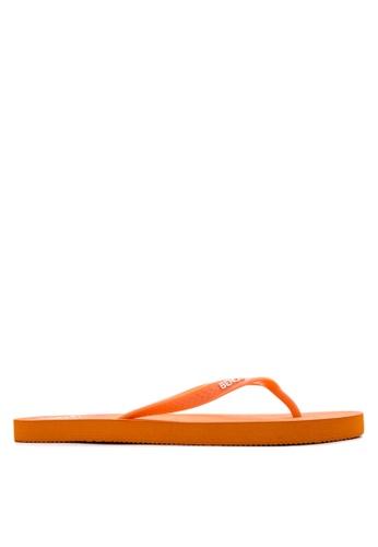 BENCH orange Basic Rubber Slippers BE550SH55LVOPH_1