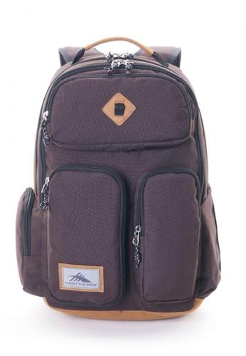 High Sierra brown HS Bascom 2.0 Backpack 9AA36ACF1AC6B0GS_1