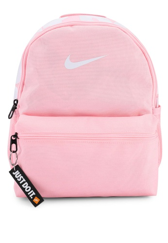 Nike pink Brasilia JDI Mini Backpack A57B4KC5839845GS_1