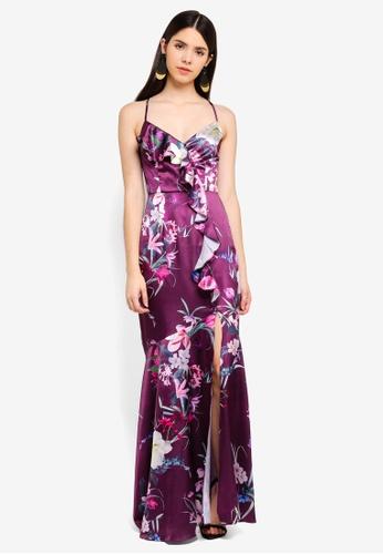 e78f9e0f9b7 Buy Lipsy Maya Frill Floral Dress Online on ZALORA Singapore