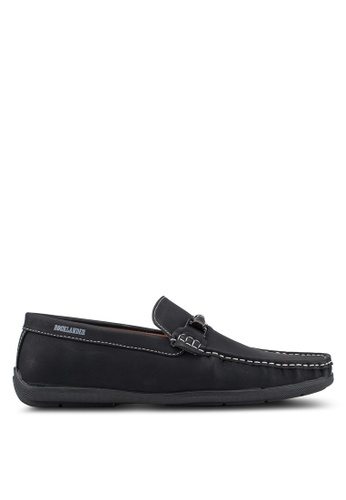 Rocklander black Casual Loafers 639F1SH131ACD0GS_1