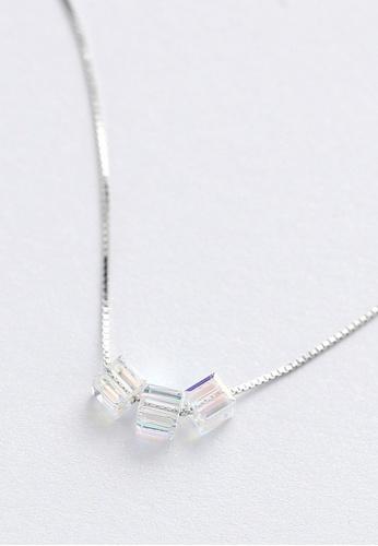 LYCKA silver LPP88080 S925 Silver Necklace 7A71FACA7DF02CGS_1