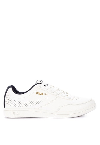 Fila white Fc Ponce Sneakers 401C6SHA35993EGS_1