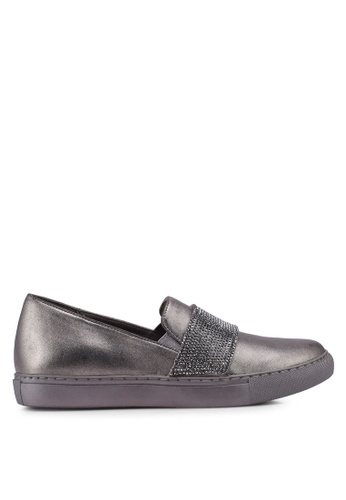 Kenneth Cole 灰色 On Slip Ons 6651ASH6A7F3C8GS_1