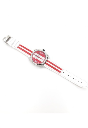 Mini red Analogue Watch MI057AC18AIFHK_1