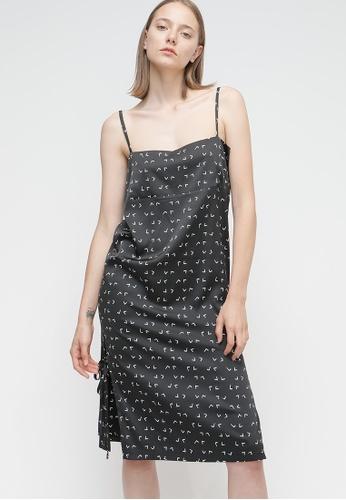 OUTSTANDING ORDINARY black Amalfi Dress OU203AA67BSYSG_1