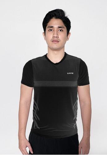 SFITS SFIDN FITS Threadcool Dotmatrix Shirt Kaos Baju Olahraga Lari Gym 1308 88A57AA95413CFGS_1