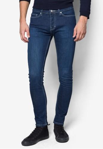 水洗彈性窄管牛仔長褲、 服飾、 服飾Topman水洗彈性窄管牛仔長褲最新折價