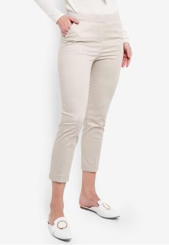 OVS beige Women's Trousers 9FE96AA11441FEGS_1