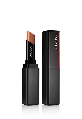 Shiseido beige Shiseido Makeup VisionAiry Gel Lipstick,201 Cyber Beige ED53EBEFD3A5D9GS_1