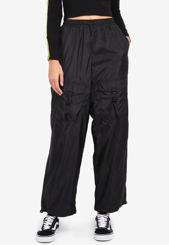 Factorie black The Woven Toggle Pants 4B5AFAAD6460DBGS_1