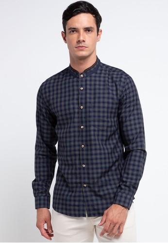 MOC navy Ackerz Shirt 7544DAAE5B09A1GS_1