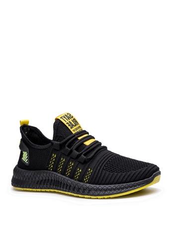 Twenty Eight Shoes 黑色 時尚網布運動鞋 VMT11 46F70SHD75A8F8GS_1