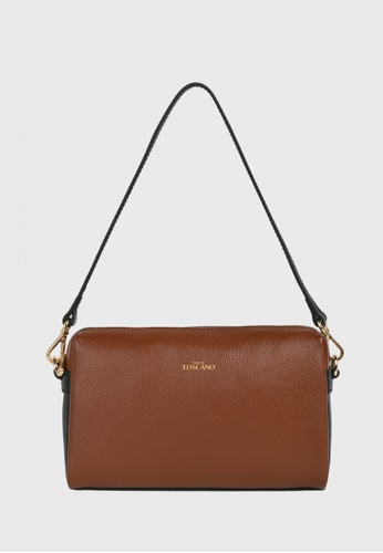 Tocco Toscano brown Lunar Curved Top Hugger (Rust) 74199ACD81003AGS_1
