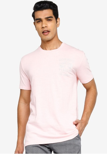 !Solid pink Petro Tee 92396AA20C8F3EGS_1