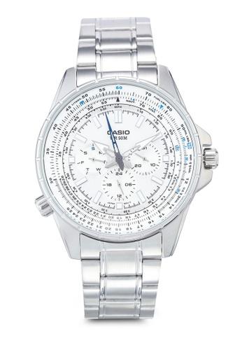 Casio silver Casio MTP-SW320D-7AVDF Watch 0CB4FAC7DB9BC2GS_1