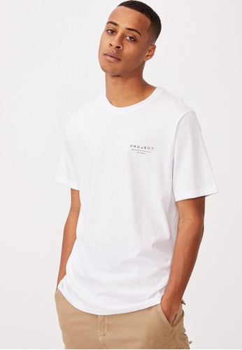 Cotton On white Tbar Street T-Shirt 45D08AAD19ABF9GS_1