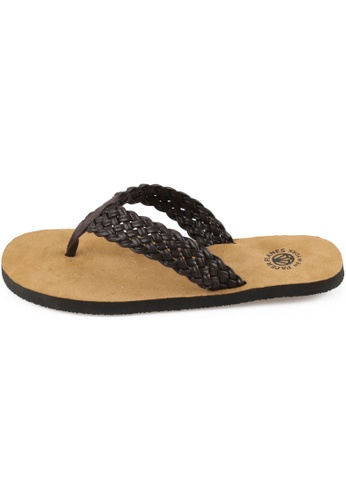 paperplanes Paperplanes-1153 Fashion Woven Leather Flip-Flop Sandals Shoes US Women Size PA110SH69ZMGHK_1