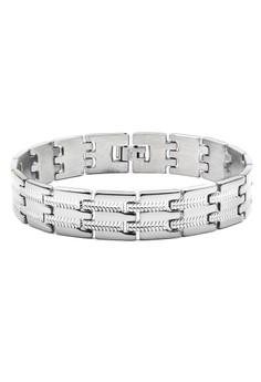 Venice Carson Men's Chain Bracelet Bangle