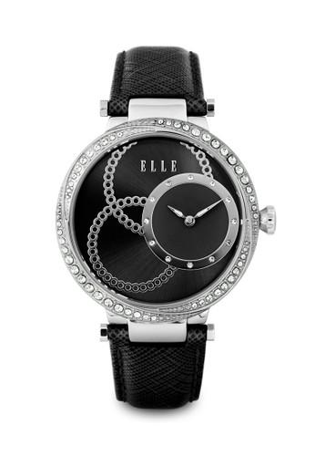 ELLE black Jam Tangan Wanita Elle EL20376S02C 5D688AC80BCDF6GS 1 cd3858764b