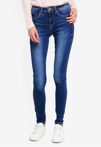 ONLY blue Carmen Denim Jeans 2F1DFAACED8EB5GS_1