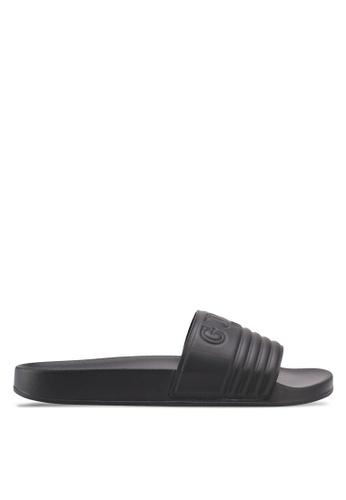 Guess black Sandal Sandals & Flip Flops 5FB54SH43583F8GS_1